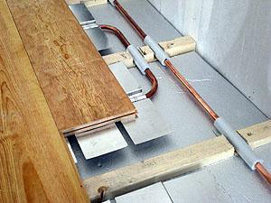 Favorit Holzdielenboden und Fußbodenheizung, Fußbodenheizung und FA26