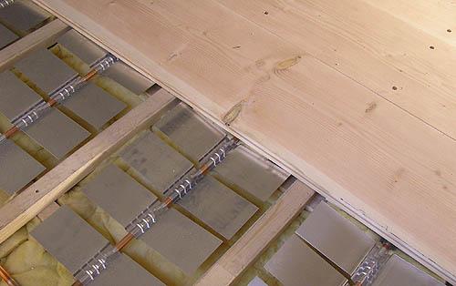 Sehr Holzdielenboden und Fußbodenheizung, Fußbodenheizung und ZD44